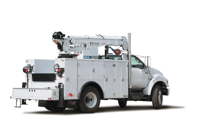 Stellar Mechanics Truck Rear View