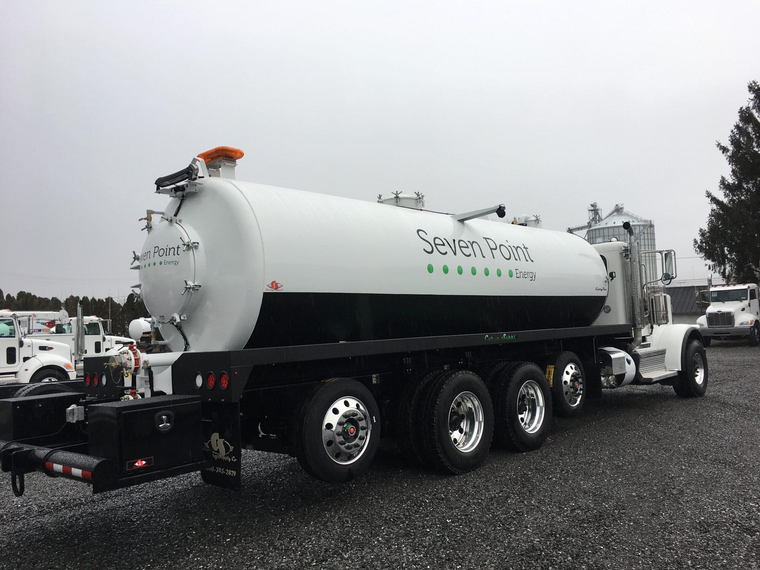 Vacuum Trucks, Curry Supply Company
