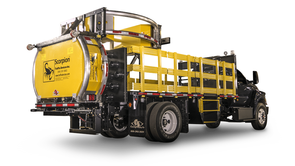 Crash Attenuator Trucks, Curry Supply Company