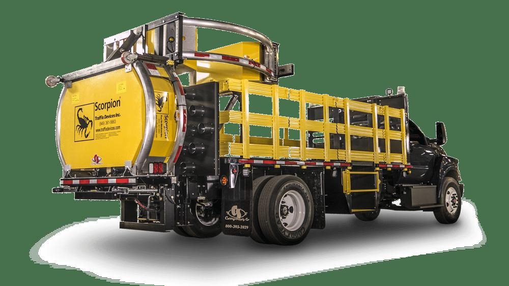 Crash Attenuator Trucks, Curry Supply Company