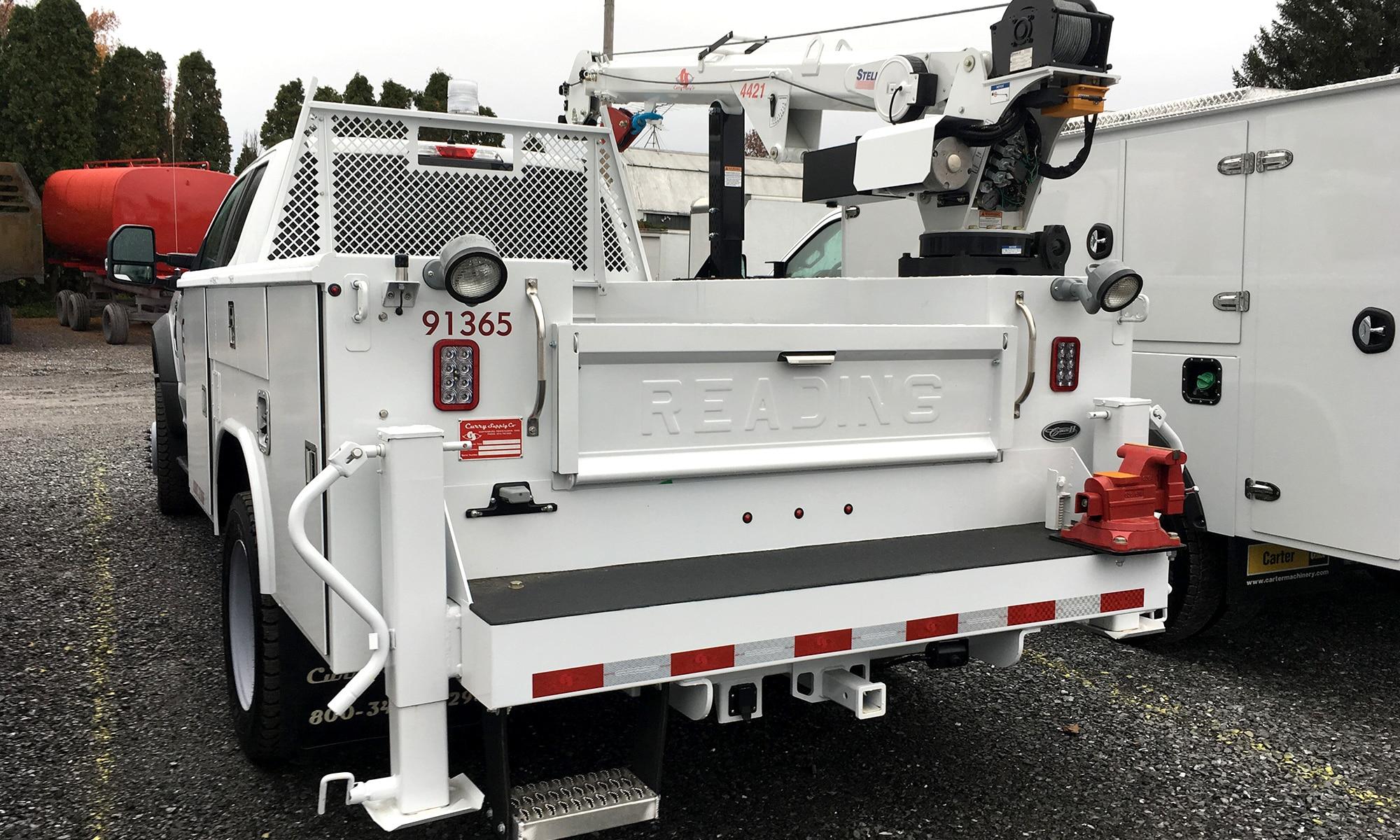 Mechanic's/Service Trucks, Curry Supply Company