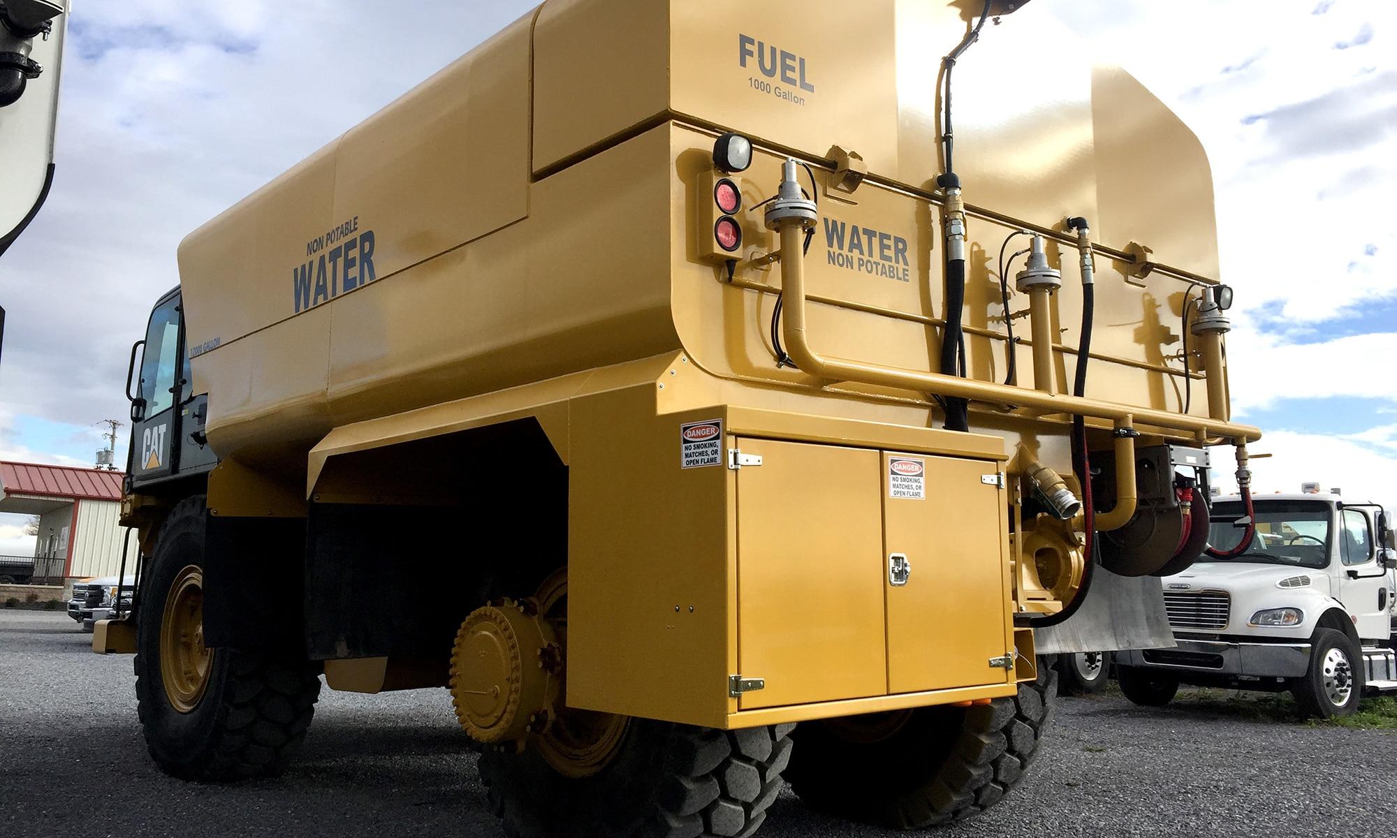 Off-Road Rigid Frame Water Trucks