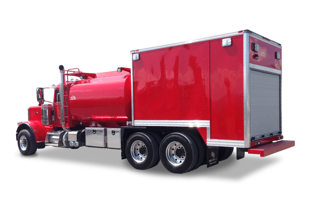 On-Road Enclosed Fuel/Lube Trucks
