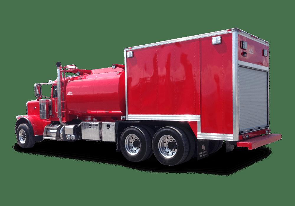 On-Road Enclosed Fuel/Lube Trucks
