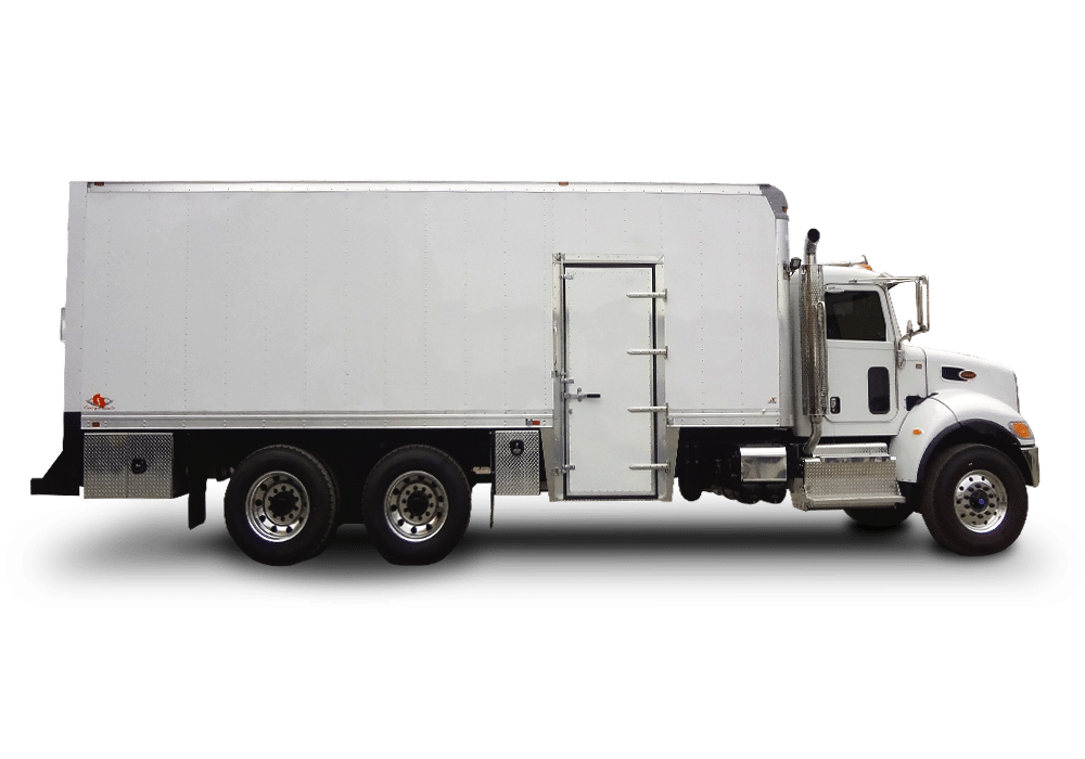PM Service Lube Truck , Curry Supply Company