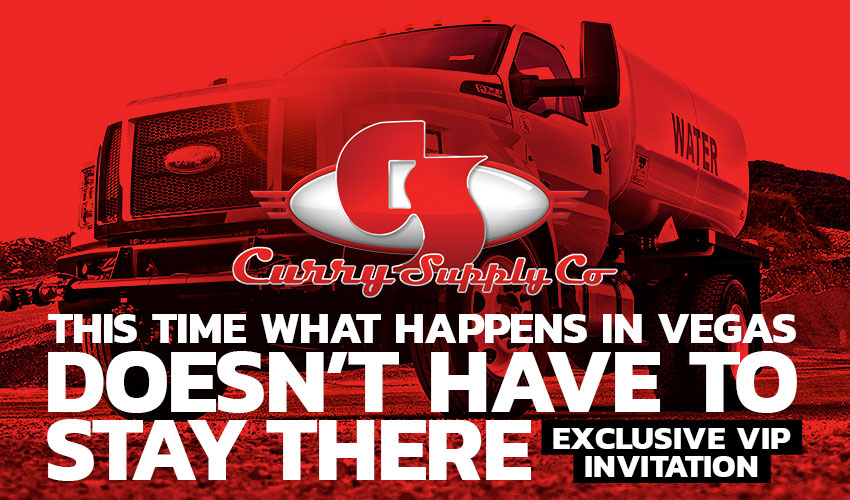 ConExpo – Thanks for booking!