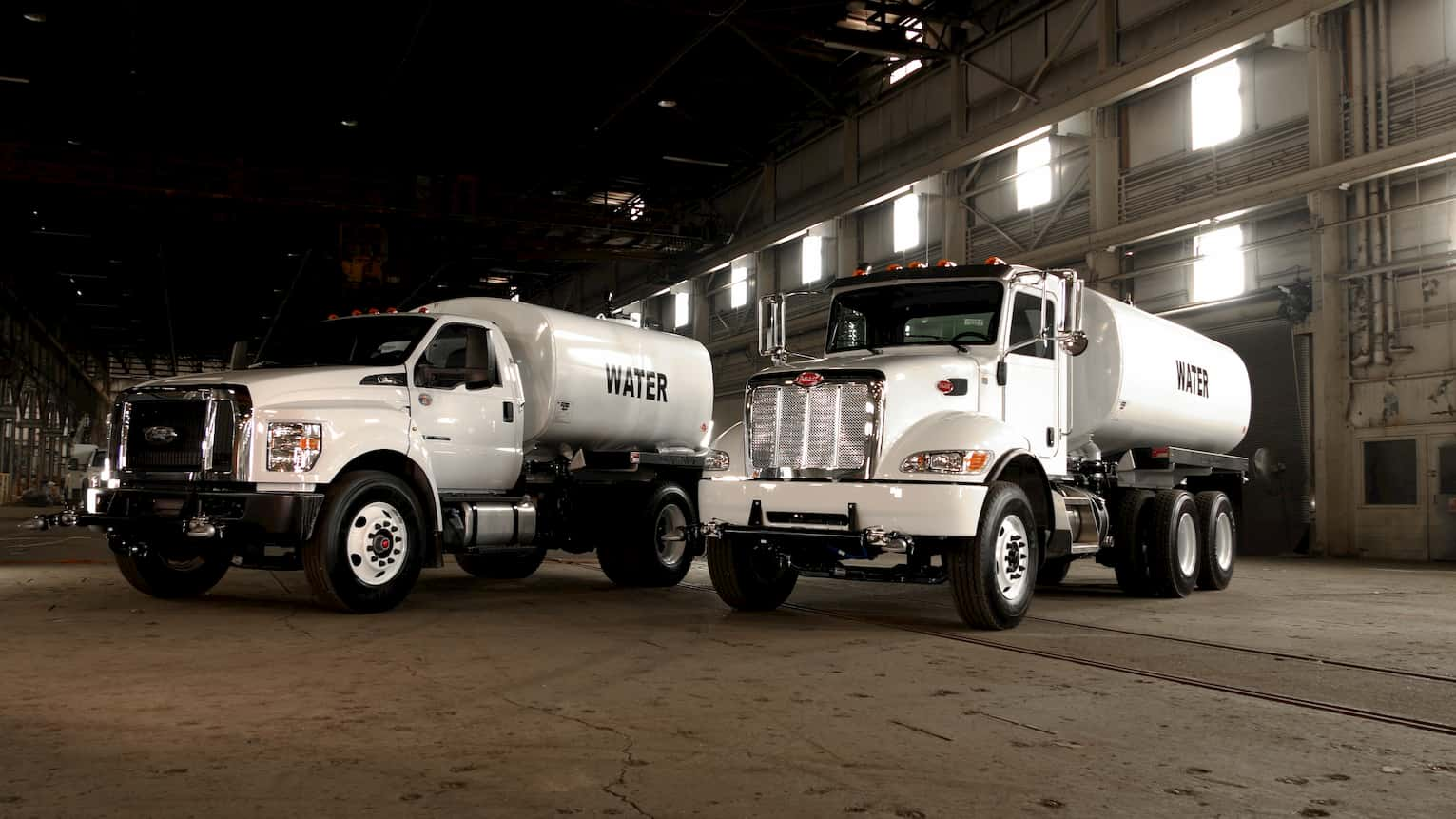How do you winterize a water truck