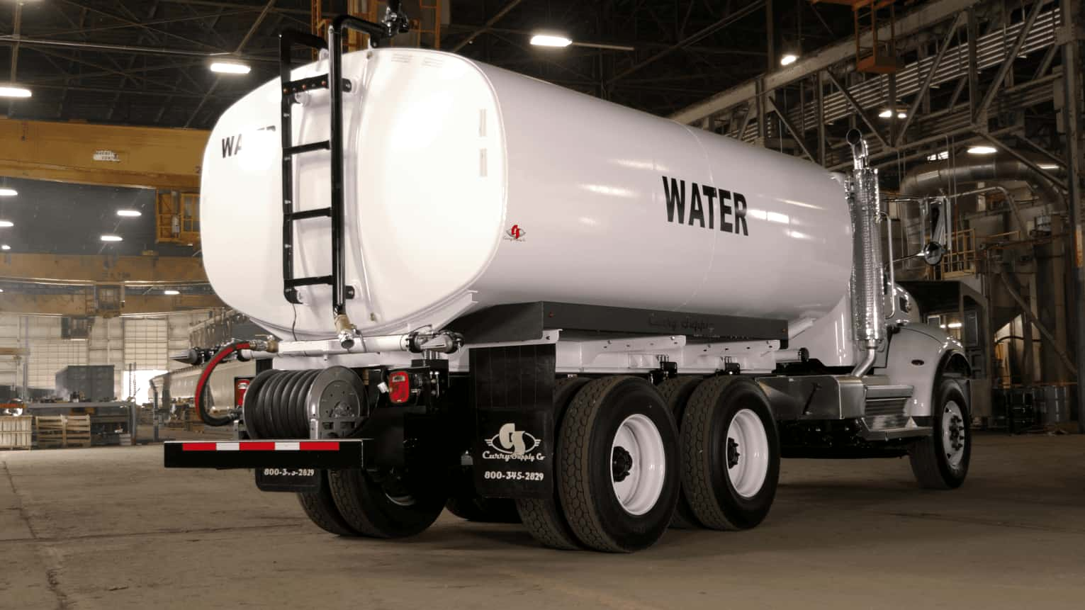 How much do water trucks hold