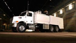 What are the safety features of fuellube trucks