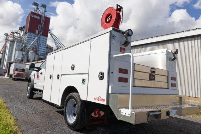 keystone mechanics service trucks