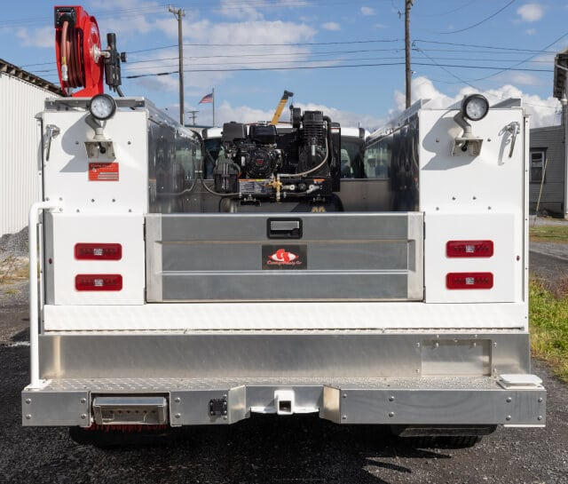 keystone mechanic service trucks with crane for sale